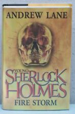 Young Sherlock Holmes Fire Storm-UK Edition-signed ( Item  1115 )