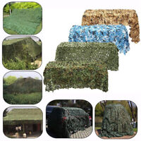 5x4m Woodland Camouflage Camo Net Hide Netting Camping Military Hunting Shel Fy