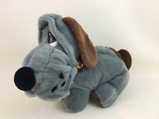 Vintage 1986 Animal Playthings Kennel Club Gray & Brown Plush Stuffed Toy