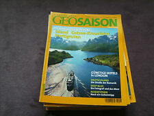 Geo Saison 6/2004 Die Magie des Nordens u. a. Themen s. Bild