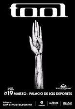 Tool 2014 Mexico City Concert Tour Poster-Alt Metal, Art Rock, Progressive Metal