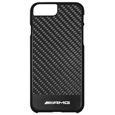 MERCEDES BENZ AMG Original Funda de smartphone iphone 7plus & 8plus CARBONO