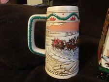 Budweiser Holiday Stein, 1996