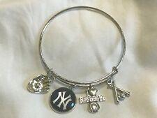 New York Yankees Baseball MLB Bracelet  Crafts Charm Alex & Ani GET YOURS NOW!!