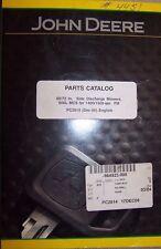 John Deere Parts Catalog 60/72 In. Side Discharge Mowers Pc2814 17Dec08