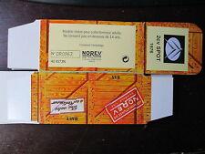 BOITE VIDE NOREV  CITROEN 2CV SPOT 1976 EMPTY BOX CAJA VACCIA