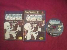 Casper et les ghostly trio original black label P2 PS2 pal très bon état