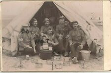 Rare cabinet card St John Ambulance Brigade in South Africa Boer War