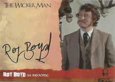 The Wicker Man Auto Autograph Card WMRB Roy Boyd as Broome