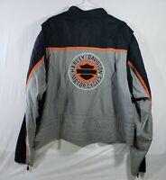 Harley-Davidson Men/'s Neon Gas Alley Crew-Neck Pullover Fleece Sweatshirt Black
