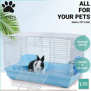 Pipers Small Pet Cage Foldable House Breeding Box Rabbit Guinea Pig Mouse Rat