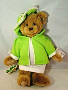 Annette Funicello Collectible Bear Kiki Pin Outfit Dress Coat Hat Purse 14""