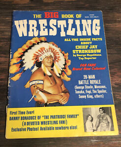 1973 The Big Book Of Wrestling Cheif Jay Strongbow Pedro Morales Danny Bonaduce
