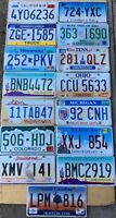 Lot of 15 License Plates- CA, CT, NH, PA, TN, MN, MT, MI, IL, AZ, SC, OH, CO, LA