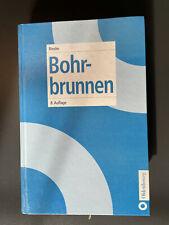 Buch Bohrbrunnen von Bieske, Treskatis, Brunnenbau, Technik Architektur, Rarität