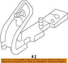 CHRYSLER OEM Front Bumper-Cover Retainer Clip or Bracket Left 4857611AA