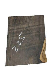 "Beautiful African Blackwood Wood Blank/Bowl Blank /Block 9-1/2""x7""x2"", #225"
