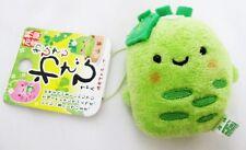 New Cute Kawaii Wasabi chan pea Mini Plush Toy Doll Phone Strap