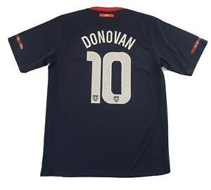 US Soccer Landon Donovan Jersey USA Team Navy Blue Red Jersey #10