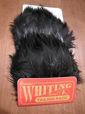Fly Tying-Whiting Farms Tailing Pack Black