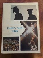 Chapin High School 1978 Eagle's Nest Yearbook, Annual SC Hardcover