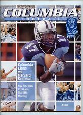 2005 Columbia University Lions Official Team Program NCAA College Football 11/5