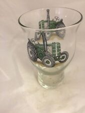 FIELD MARSHALL 2 TRACTOR DESIGN ON 1pt TOUGHENED CRAFT BEER GLASS