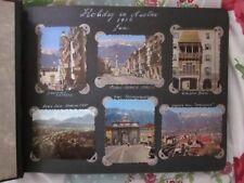 "Wonderful June 1956 Photo/ Postcard Album of ""Holiday in Austria"" Social History"