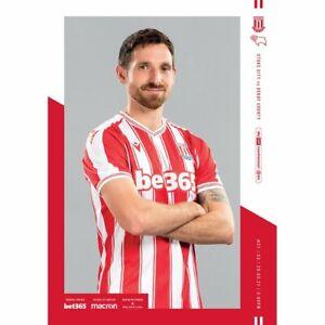Stoke City v Derby County 2020/21 ~ Championship Programme 20/3/2021