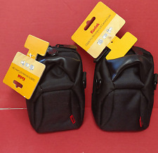NEW ~ 2 Kodak C3200 Pro Mirroless SLR Camera Cases, Black  ~ Free Shipping