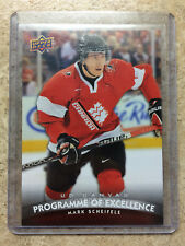 11-12 UD Rookie Canvas POE Programme Of Excellence MARK SCHEIFELE C265