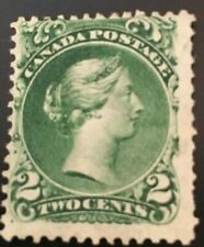 Canada Postage Stamps 1868, Two Cents