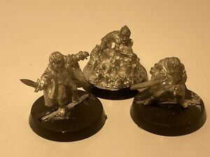 Games Workshop Lord Of The RIngs Minature - Frodo, Sam And Gollum