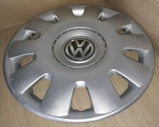 "VW Volkswagen 15"" Wheel Trim Golf Passat Touran etc Pa66-M15 1J0601147P"