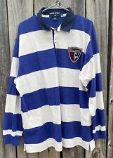 Vintage Polo Striped Spellout Rugby Ralph Lauren Sport Snow Beach XL