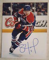 Shawn Horcoff SIGNED Photo Edmonton Oilers 8 X 10 Autograph Auto
