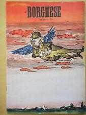 1954-IL BORGHESE-Direttore LEO LONGANESI-Anno V, Numero 38