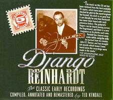 DJANGO REINHARDT - THE CLASSIC EARLY RECORDINGS IN CHRONOLOGICAL ORDER USED - VE