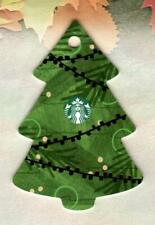 STARBUCKS ( Ireland ) Christmas Tree ( 6156 ) 2018 Die-Cut Gift Card ( $0 )