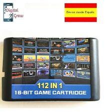 Cartucho Sega Mega Drive 112 en 1 Sunset Riders, Street of Rage, Alien Soldier
