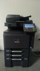 Kyocera TASKalfa 3551ci Laserdrucker Farbkopierer Scanner Fax nur 99.180 Seiten