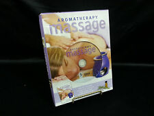 Aromatherapy Massage Instructional Guide Illustrated Color Book & DVD Box Set