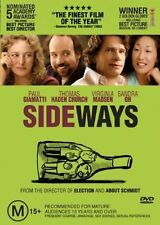 Sideways (DVD, 2006), Region-1, Like new (Disc: New), free shipping in Australia