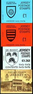 Great Britain: Jersey, 1978; and 1981, 4 Good Booklet diferent, Mint. EBGB014