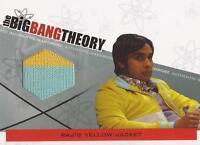 """Big Bang Theory Seasons 3&4 - M-22 VARIANT """"Raj's Yellow Jacket"""" Wardrobe Card"""