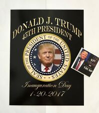 "President Donald Trump 8 1/2""x11 on Card Stock.. Photo Portrait Picture +Decal"