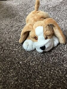 MARKS SPENCER M&S HOUND COLLAR PUPPY DOG SOFT TOY SMALL