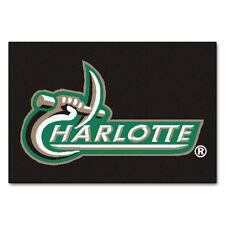 dc430cca753 UNC Charlotte Forty Niners 49ers Starter Mat Rug NCAA Logo Team Door Floor  19x30