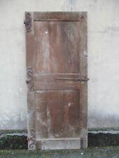 porte ancienne en chêne.