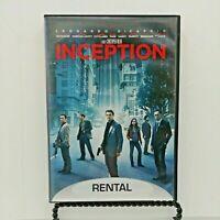 Inception (DVD, 2010, Rental Exclusive) Leonardo DiCaprio.